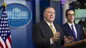 """Amerika wirft Iran geheime """"nukleare Aktivitäten"""" vor"""