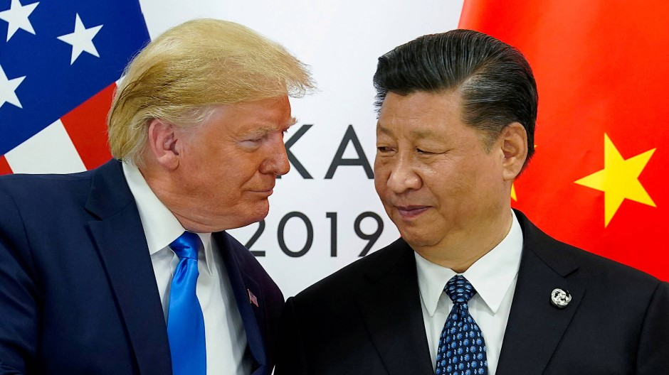 Konkurrenten: Donald Trump und der chinesische Präsident Xi Jinping Ende Juni 2019 beim G-20-Gipfel in Osaka