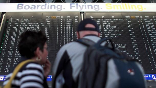 Fehler im Computersystem lässt Flüge ausfallen