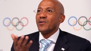 IOC suspendiert Fredericks