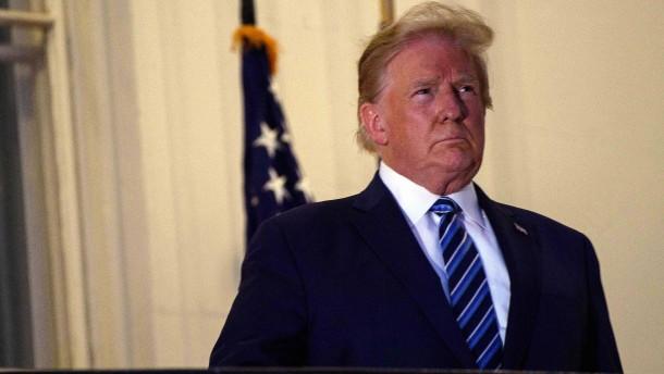 Trump zurück im Weißen Haus