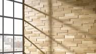 Holzmosaike sind der neue Wohntrend