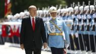 Besonders in den Reihen des Militärs sortierte Recep Tayyip Erdogan nach dem Putsch vom 15. zum 16. Juli 2016 aus.