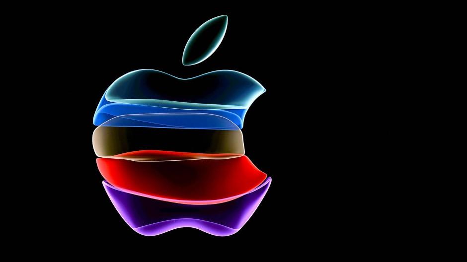 Ein Apple Logo