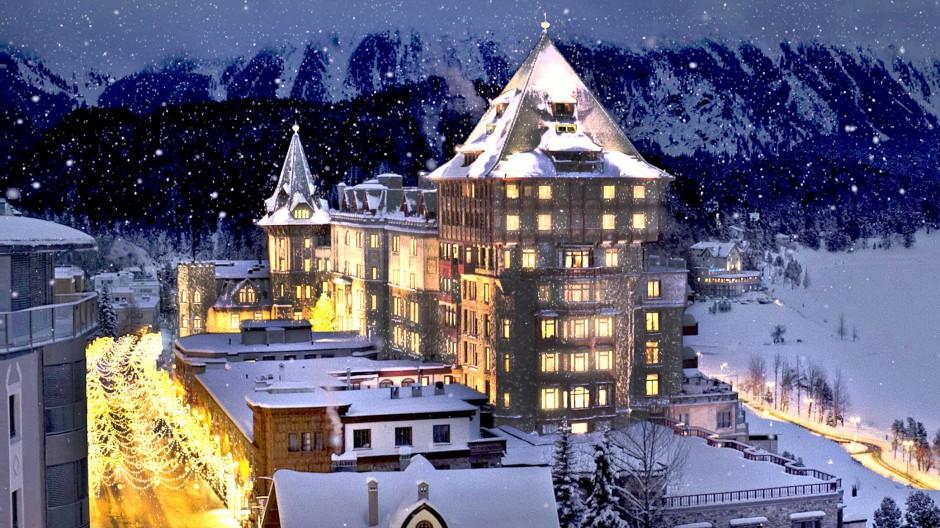 """Wenn denn St. Moritz, diese kleine kalte Metropole des Konsums, überhaupt eine Seele haben sollte, dann läge sie wohl in """"Badrutt's Palace""""."""