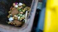 Gut 80 Kilogramm Lebensmitel wirft jeder Deutsche im Jahr in den Müll - statistisch gesehen