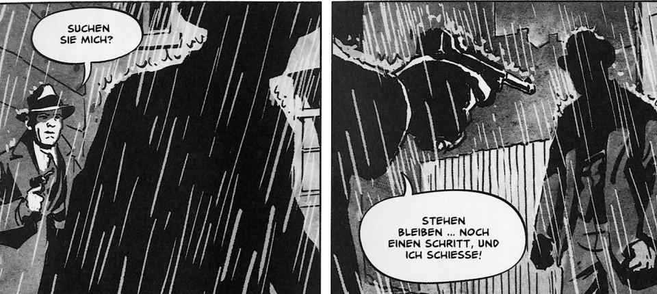 Arne Jyschs Comic Adaption Von Der Nasse Fisch