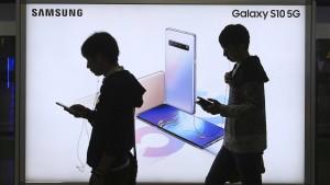 Gewinneinbruch bei Samsung