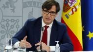 Minister auf Abruf: Salvador Illa