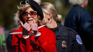 Jane Fonda bei Klimaprotesten verhaftet