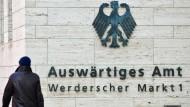 Das Auswärtige Amt am Werderschen Markt in Berlin