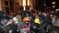 Pro-russische Proteste in der Ostukraine