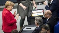 Zaghafte Annäherung: Koalieren die Parteien von Merkel und Schulz am Ende doch noch?