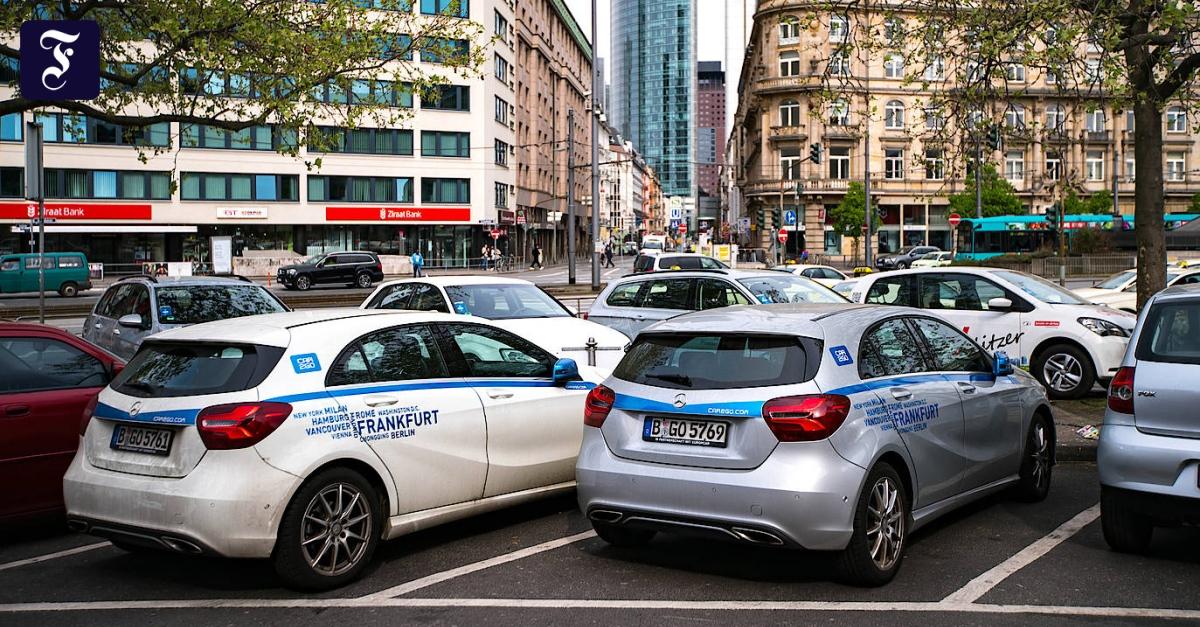 Parkplatznot bremst Carsharing in Frankfurt aus