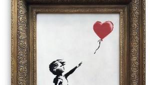 Bieterin will geschreddertes Banksy-Werk behalten