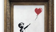 "Banksy-Werk ""Girl with Balloon"""