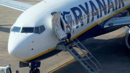 Kranke Ryanair-Piloten müssen Kündigung fürchten