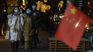 China verzeichnet höchsten Tagesanstieg seit fünf Monaten
