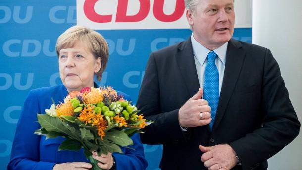 Nach Niedersachsen-Wahl: Merkel: Ergebnis in Hannover schwächt mich nicht