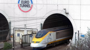 Der Eurotunnel hat Ärger mit seinen Fähren