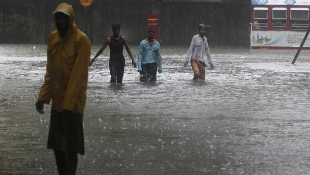Monsun trifft Südasien inmitten der Pandemie