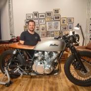 Schmuckstück: Flo Hubert und Mellow Motorcycles haben sich international einen Namen gemacht.