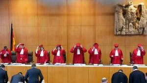 Karlsruhe pocht auf nationale Kontrolle