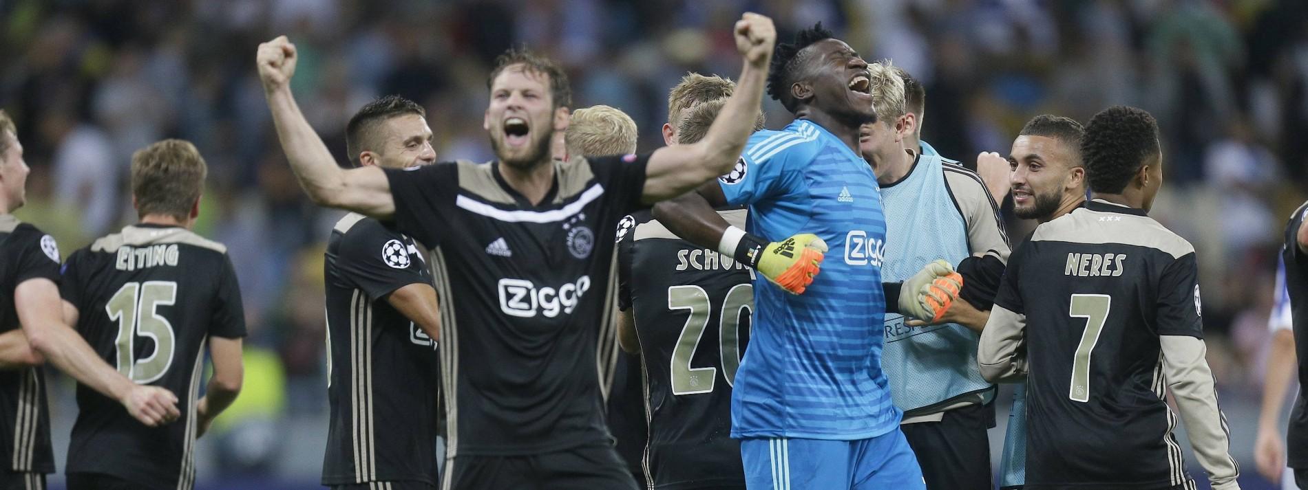 Ajax kehrt zurück in die Königsklasse