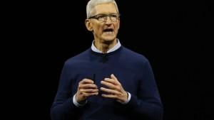 Apple-Chef: Wir bauen am Roboterauto