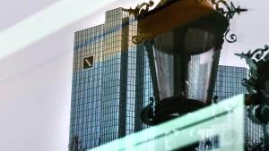 Deutsche Bank kriegt die PS nicht auf die Straße