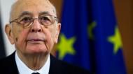 Weithin geschätzt: Giorgio Napolitano