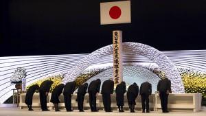 Japan erinnert an Opfer der Fukushima-Katastrophe