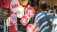Rabattschlacht statt Preiserhöhungen