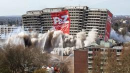 """""""Weißer Riese"""" in Duisburg gesprengt"""