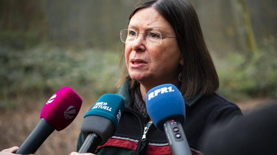 Ulrike Höfken, Umwelt- und Forstministerin in Rheinland-Pfalz, vor einem Jahr