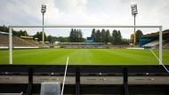 Veraltet: Das Stadion entspricht nicht den Anforderungen der 1. Bundesliga.