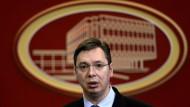 Serbischer Präsident Vučić