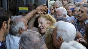 Griechischen Großbanken droht das Aus