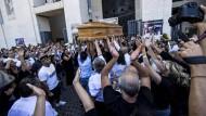 Große Beerdigung für Mafiaboss
