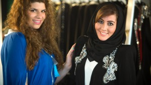 Musliminnen in Mode