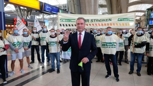 Mehrheit hat kein Verständnis für Bahn-Streiks