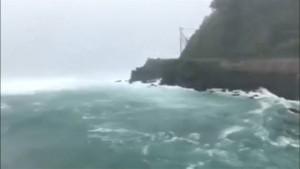 Taifun Soulik nimmt Kurs auf Korea