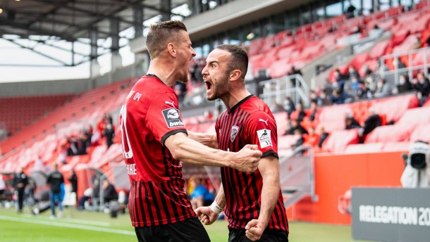 Ingolstadt startet erfolgreich in Relegation