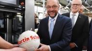 Martin Schulz: Führungsqualitäten schon damals auf dem Fußballplatz