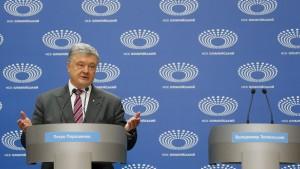 Poroschenko allein beim TV-Duell