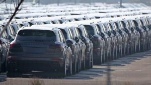SUVs von VW und Porsche müssen in die Werkstatt