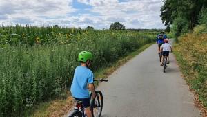 Eine kleine Tour de France entlang der Nidda