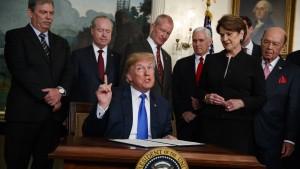 Angst vor einem Handelskrieg