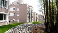 Gegen den Trend: In Oberursel sind in den vergangenen Jahren viele Wohnungen entstanden, etwa am Urselbach.