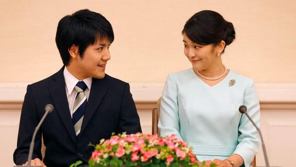 Japanische Prinzessin Mako heiratet ihre Studienliebe